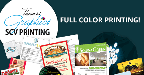 Full Color Printing | Blueprints & More | SCV Printing – Thomas Graphics