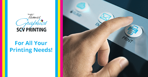 SCV Print Deal – Spring 2020 – SCV Printing Thomas Graphics