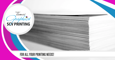 Get your Bulk Printing Done for the Holidays!   SCV Printing – Thomas Graphics