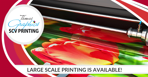 Don't Hesitate to Call Us about Your Print Order or Questions!   SCV Printing – Thomas Graphics