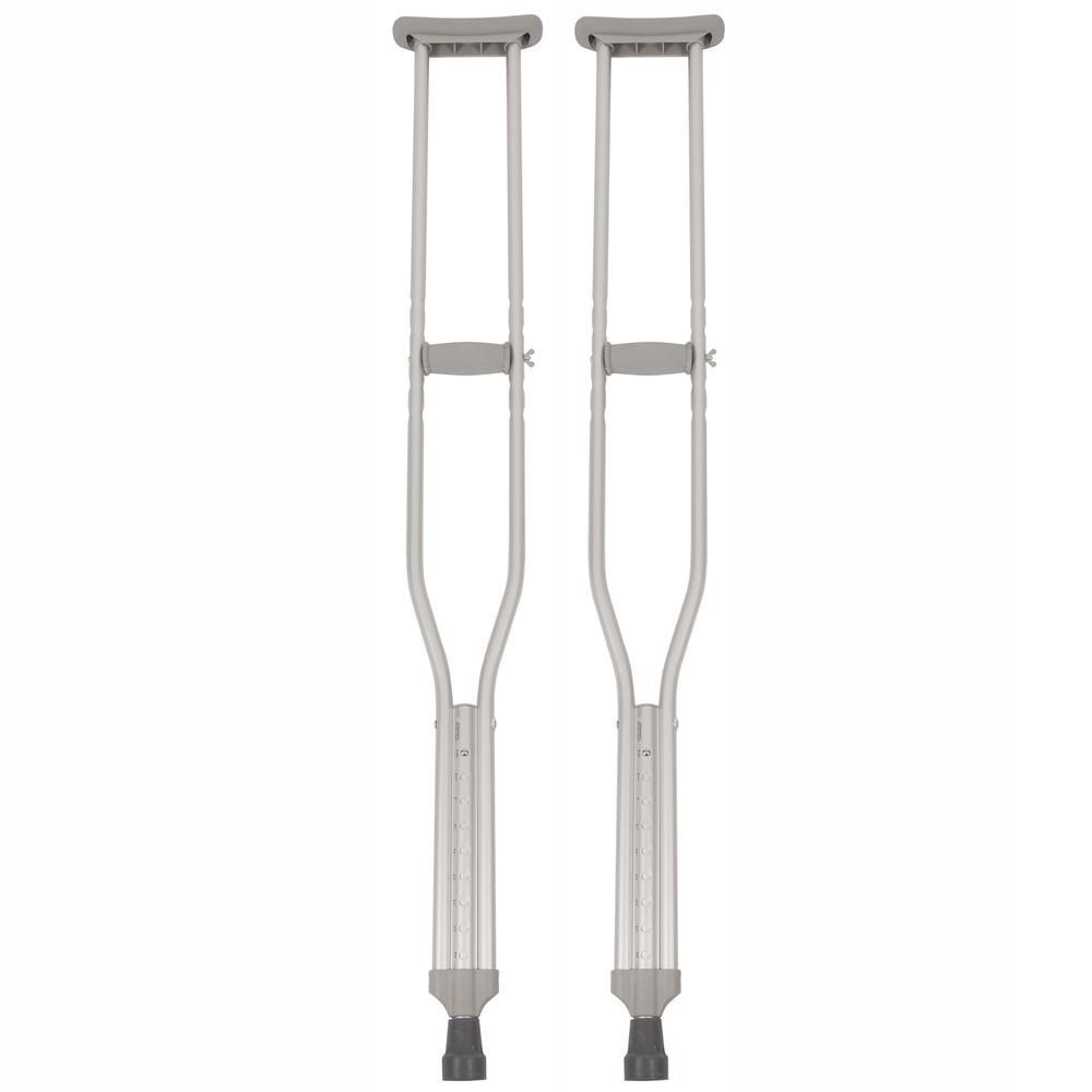 Surgical Appliance Push Button Crutch