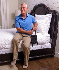 Stander PT Bedcane used by an old man