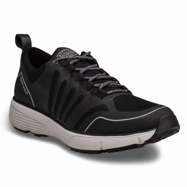 Gordon Black Grey Men's Athletic Shoe