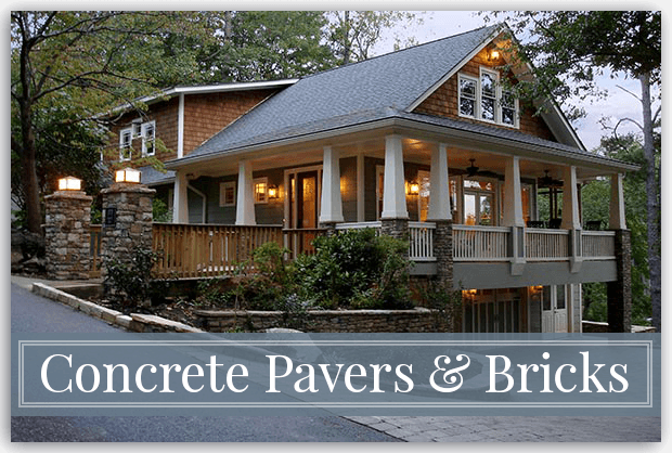 Concrete Paver Driveways & Patios - Georgia Hardscapes