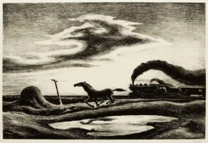 Thomas Benton's The Race (Homeward Bound)
