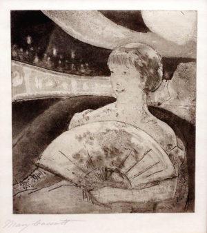 Mary Cassatt's In the Opera Box (No. 3)