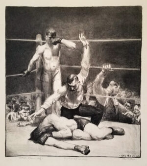 George Bellows, Counted Out - First Stone