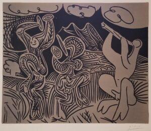 Color Lino by Pablo Picasso