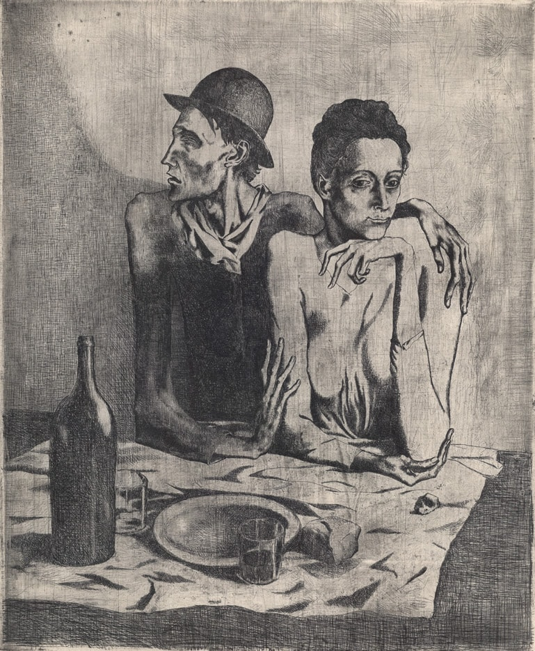 Picasso_Le_Repas_Frugal