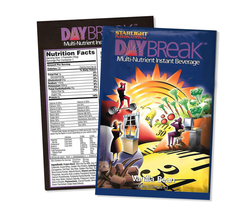 DayBreak – packaging