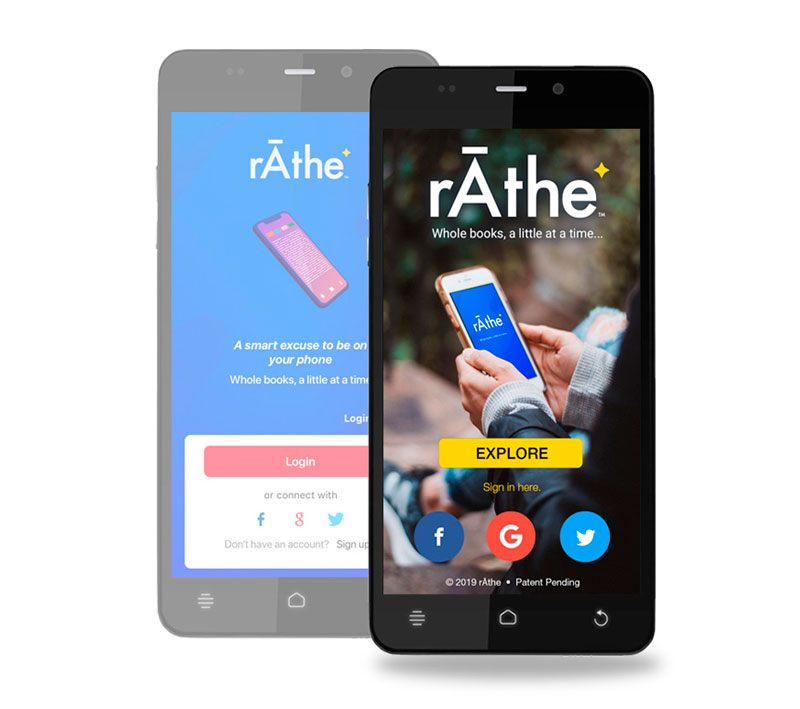 rAthe App re-design