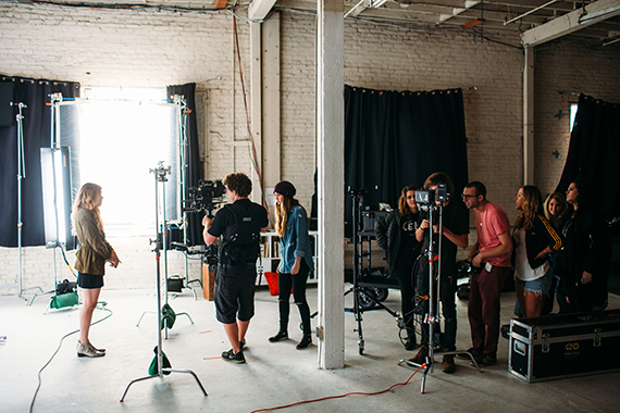 The making of a music video