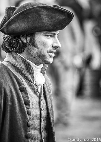 Aidan as Poldark. Photo: Andy Rose.