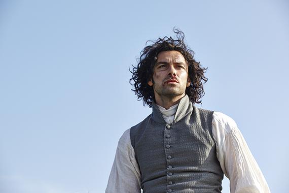 Aidan as Poldark. Photo: Mammoth Screen Ltd.