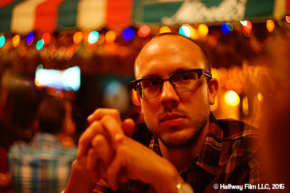Ben Caird. Photo by Ben Montemayor. © Halfway Film LLC, 2015