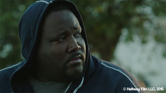 Quinton Aaron as Byron in Halfway. © Halfway Film LLC, 2015