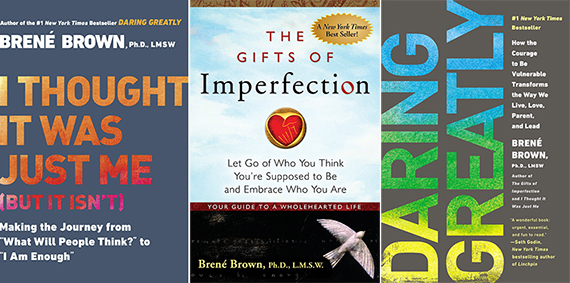 Brené's past books.