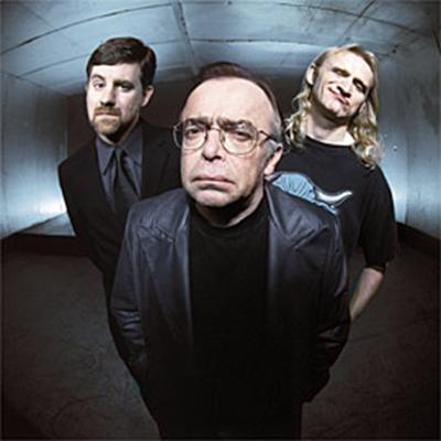 The Lone Gunmen: Byers (Bruce Harwood), Frohike (Tom Braidwood), and Langly (Dean Haglund)