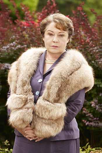 Noni as Elizabeth Bligh, queen of her small realm. Photo: Acorn TV.