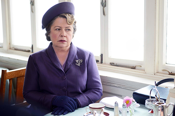 Noni Hazlehurst as Elizabeth Bligh in A Place to Call Home. Photo: Acorn TV.
