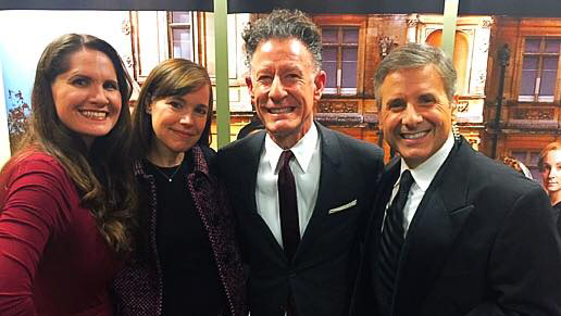 Lyle Lovett joined the group for the first episode of Manor of Speaking this season. Photo: Houston Public Media.