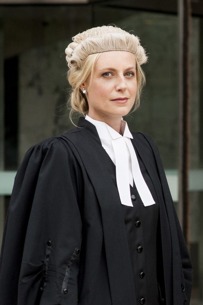 Marta Dusseldorp as Janet King in Janet King. Photo courtesy Acorn TV. Photo by Ben Timony.