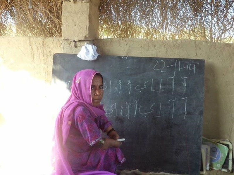 A brave daughter of Thar HASEENA