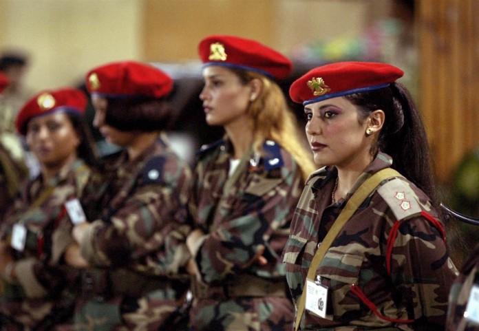 Libyan Revolutionary Nuns
