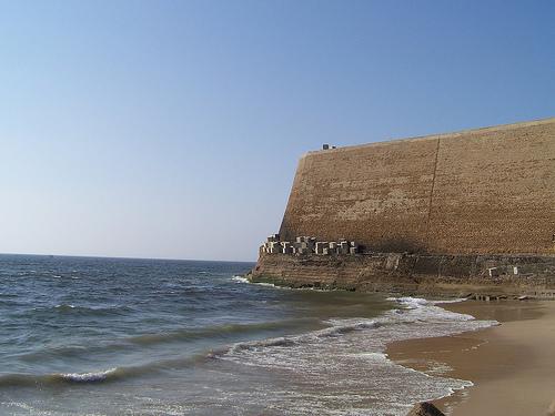 View of Qasim Fort: