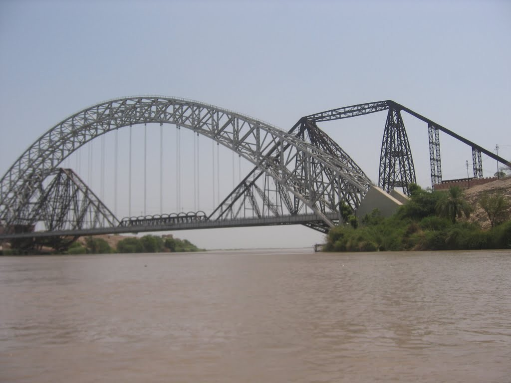 Sukkur Barrage and Lab-e-Mehran