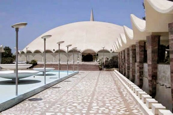 "This spectacular Tooba Mosque regionally known as the ""Gol Masijd"" is a distinctively and beautifully architectural design mosque situated"