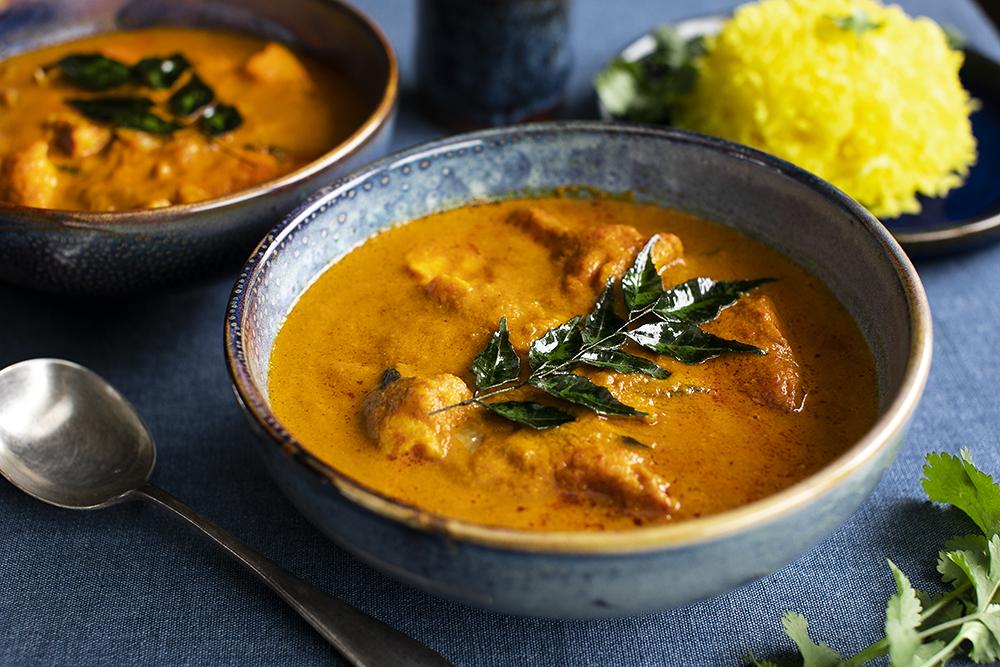 Goan Fish Curry from Scratch.+ Saffron Rice Recipe.
