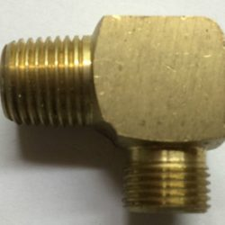 Brass Male Elbow