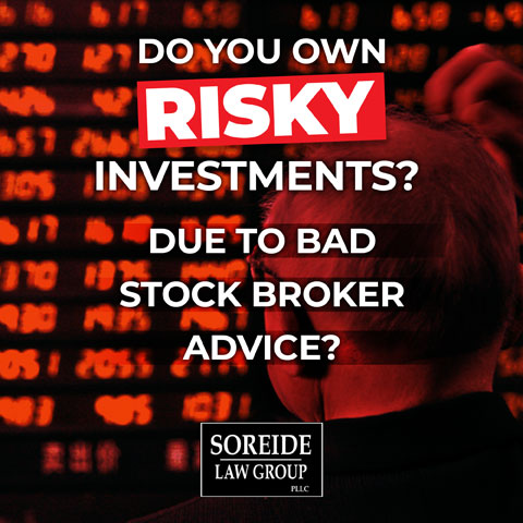 risky investments? call soreide law group
