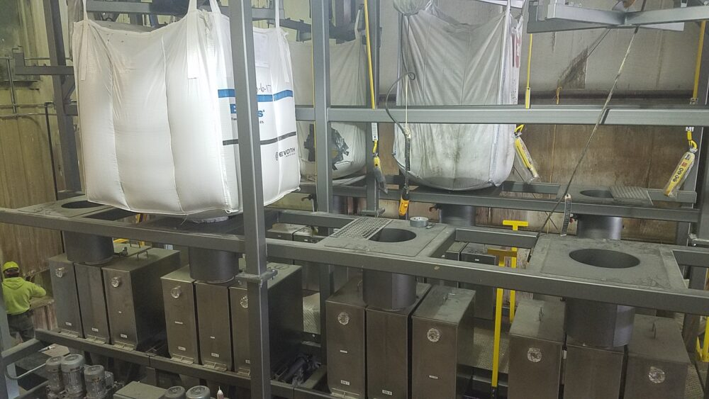 Bulk Bag Resupply of Batching System