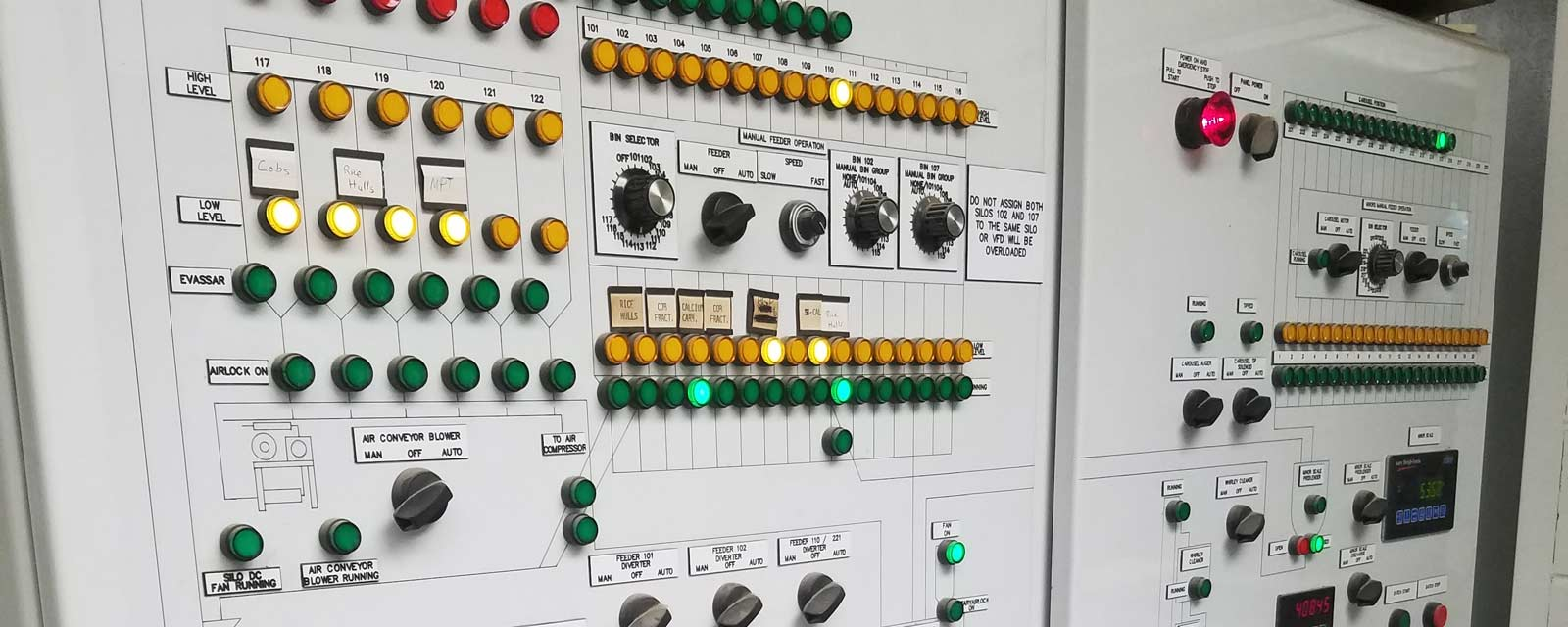Agri-King Batching System Control Panel