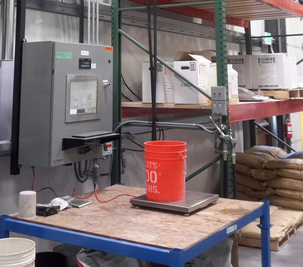 ELIMINATE BAD BATCHES WITH HAND PROMPT STATION