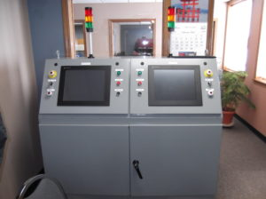 DUAL REACTOR AUTOMATION PANEL