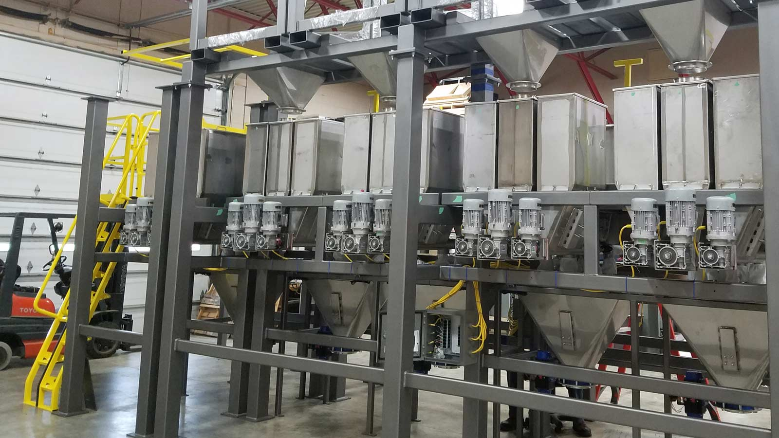 Weighing System With Bulk Bags