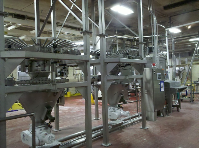 AUTOMATING BULK SOLIDS PROCESSES