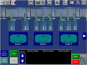 Main Batching Screen