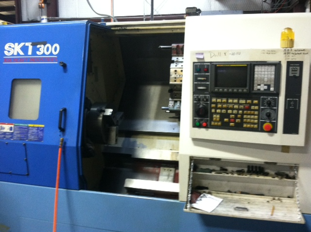 MIC-ALL's machine shop is equipped with a KIA SKT 300 CNC lathe
