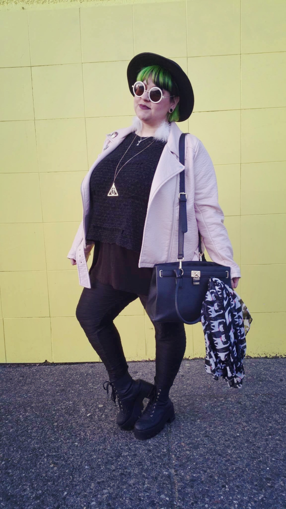 Margot Meanie   alternative plus size style - a lesson in layers