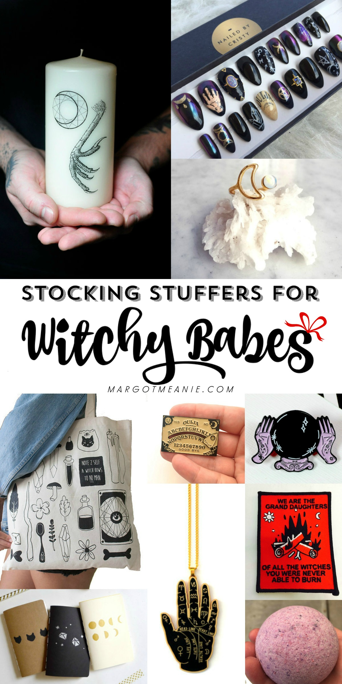 Stocking Stuffers and Gift Ideas for Witchy Babes