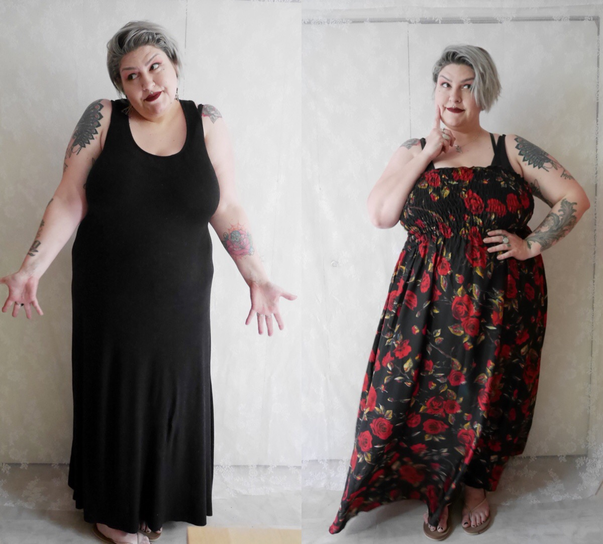 10 ways to style your plus size maxi | Margot Meanie