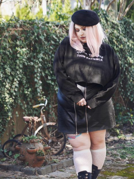 Thick Thighs Thin Patience | Margot Meanie