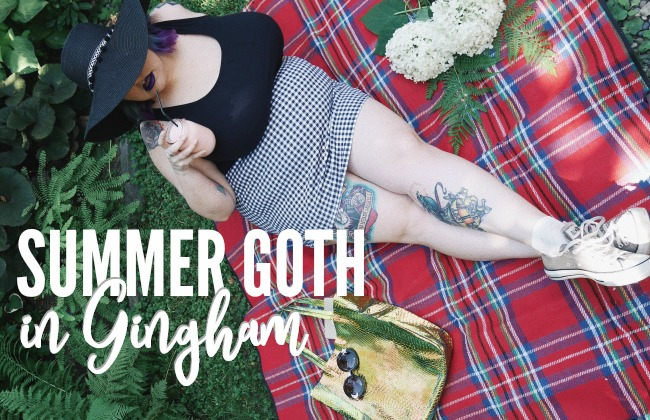 SUMMER GOTH | plus size fashion