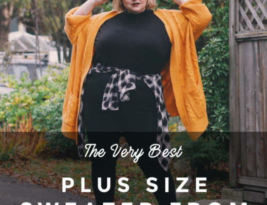The Very Best Plus Size Amazon Sweater | margotmeanie.com