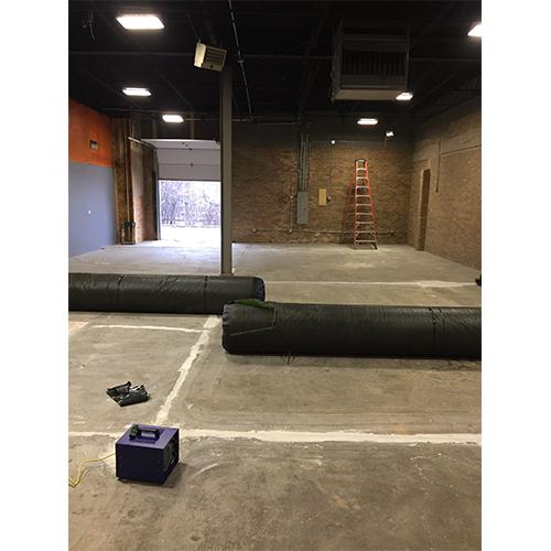 indoor artificial turf project