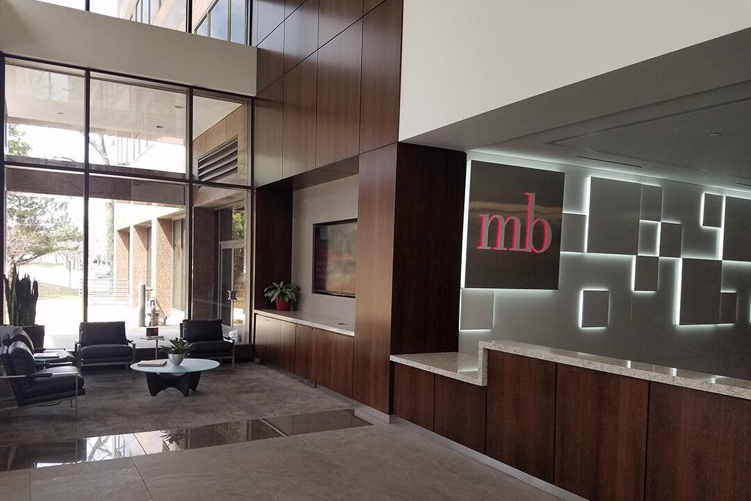 MB Financial Lobby recostruction